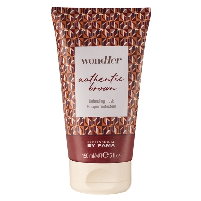 AUTHENTIC BROWN DEFENDING MASK  150 ml