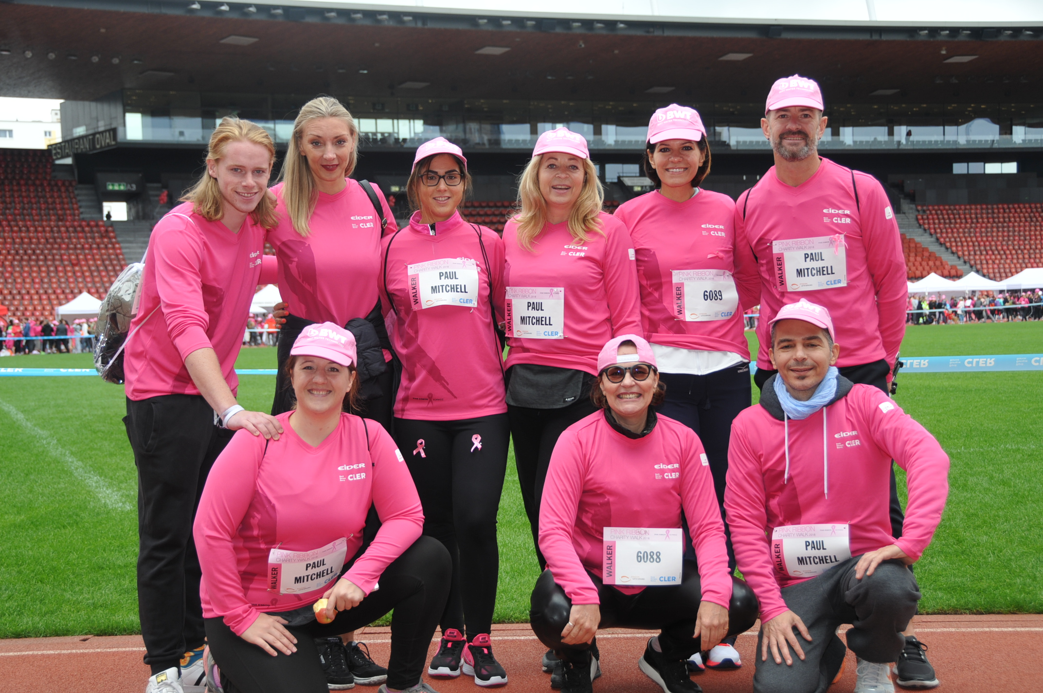 Wir kämpfen gegen Brustkrebs - PM Care Systems am Pink Ribbon Charity Walk